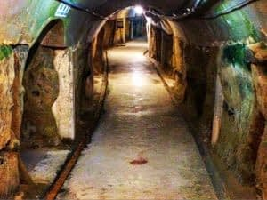 war in okinawa navy underground headquarters