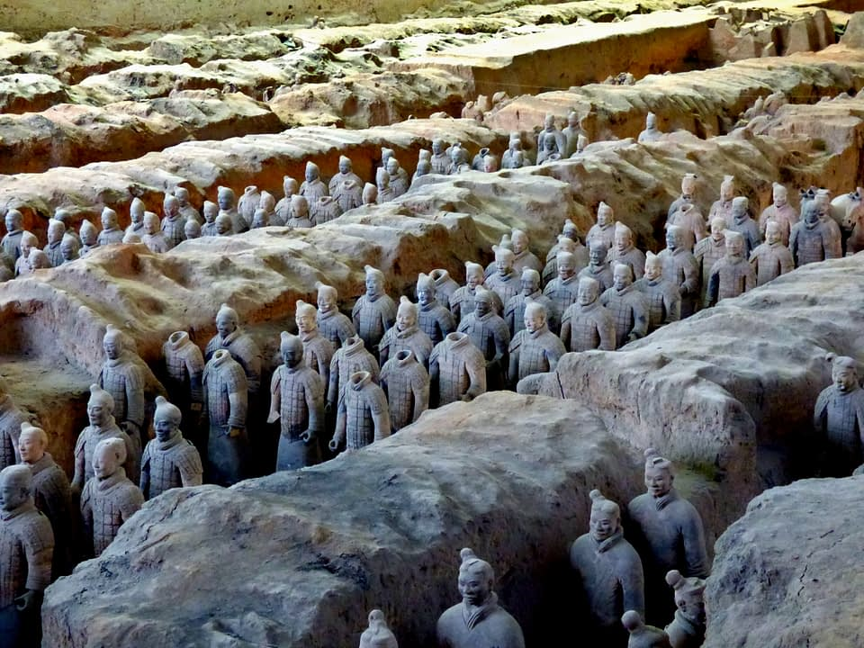 xian itinerary Terracotta warriors